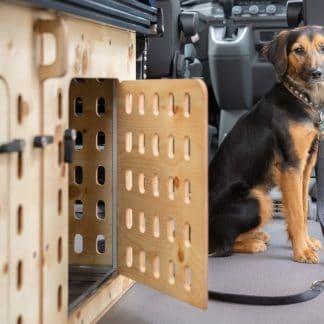 Hundebox für einen Hund