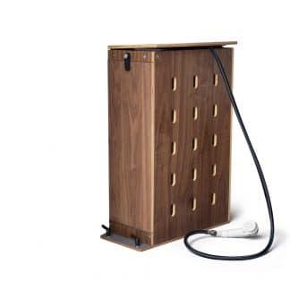 Holzkasten für Dusche