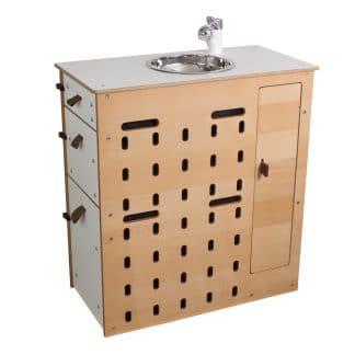 Küchen-Modul 3 ohne Drehsystem