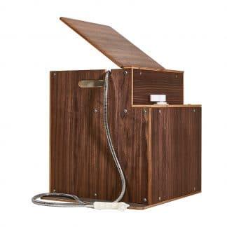 Dusch-Modul mit Boiler im Holzkasten